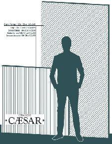 Большие форматы Caesar 120x240 и 120x120 см.