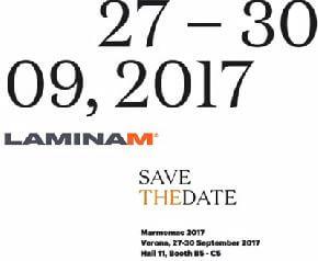 Laminam примет участие в выставке Marmomac 2017