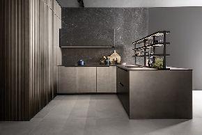 Новая кухня с помощью плит Ламинам