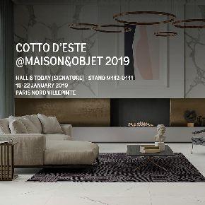 Cotto d'Este на выставке Maison & Objet 2019 в Париже