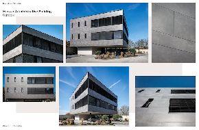 Административное здание с помощью Ламинам