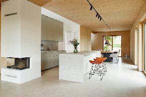 Новый проект частного дома с Ламинам в Германии