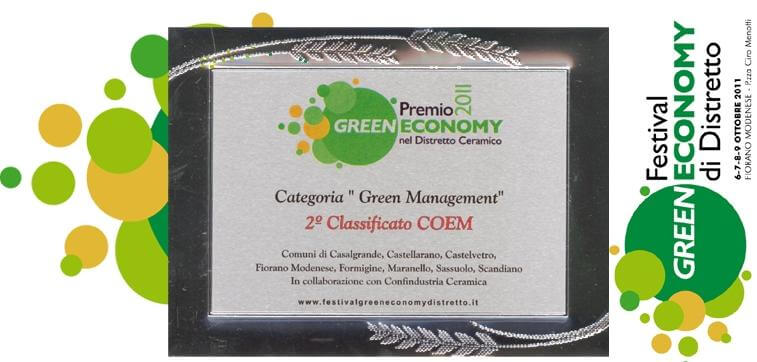 Компания COEM сертификат Green Management. Masterproff.ru Мастерпрофф.рф