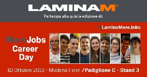 Laminam приглашает на MoreJobs Career Day