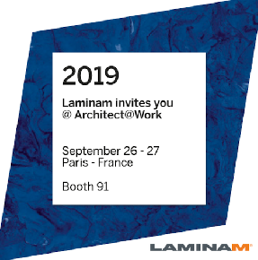 Laminam приглашает на Architect@Work в Париже