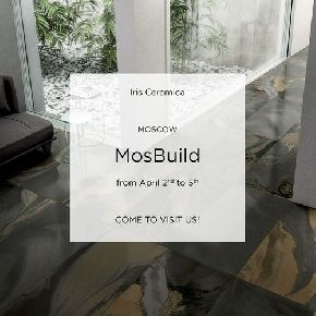 Iris Ceramica на выставке MosBuild 2019 в Москве