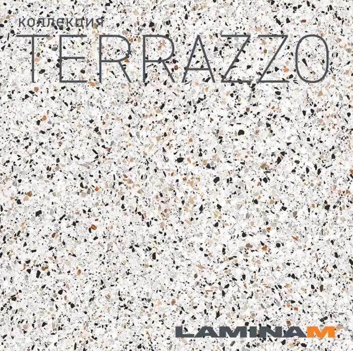 Новинка Laminamrus - Terrazzo 1000х3000х5,6 мм Masterproff.ru